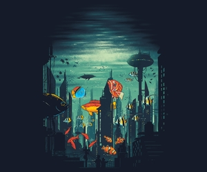 buildings, Cityscapes, and threadless image