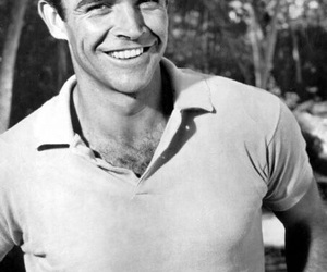 Sean Connery and James Bond image