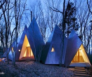 architecture, japanese, and modern homes image