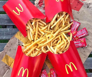 delicious, food, and fries image