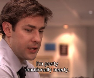 jim, the office, and words image