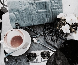 accessories, fashion, and coffee image