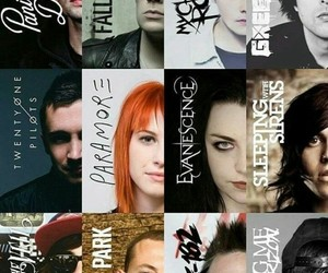 fall out boy, green day, and paramore image