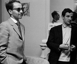 francois truffaut, french cinema, and jean-luc godard image