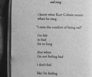 90s, depression, and kurt cobain image