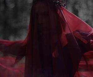 crimson, gothic, and influence image