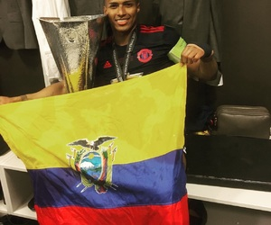 ecuador, football, and manchester united image