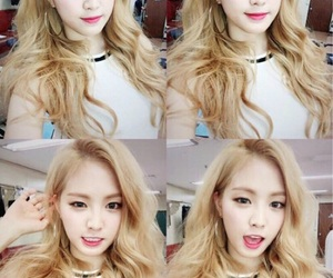 blonde, kpop, and naeun image