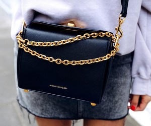 Alexander McQueen, bag, and fashion image