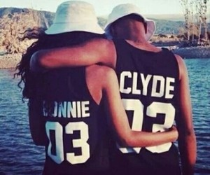 love, couple, and Clyde image