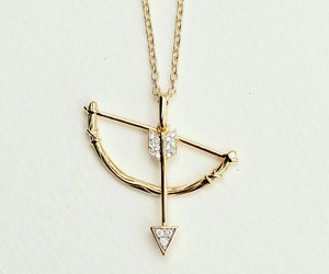 gold, arrow, and jewelry image