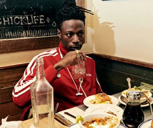 food, music, and rapper image