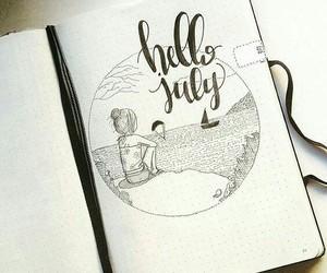 followme, bujo, and hellojuly image