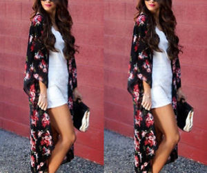 ebay, floral, and kimono image