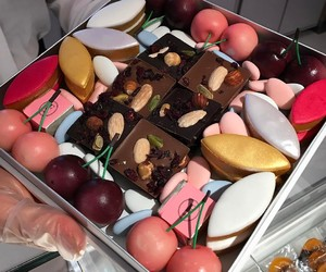 cake, tasty, and food image