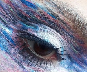 art, colour, and eye image