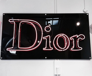 dior and neon lights image