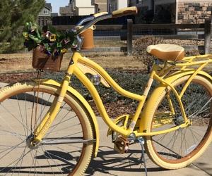 bicycle, bike, and boy image