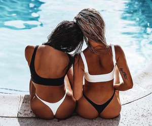 girls and summer image