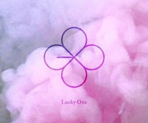 exo, lucky one, and kpop image