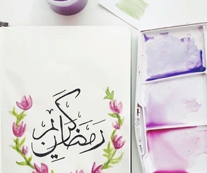 flowers, muslim, and Ramadan image
