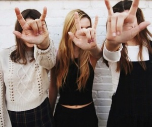 friends, girl, and grunge image