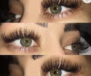 beauty, eyes, and lashes image