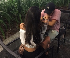 couple, girl, and Relationship image