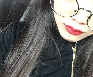 aesthetic, cold, and lips image