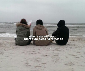 friendship, grunge, and Lyrics image