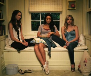 pretty little liars, shay mitchell, and spencer hastings image
