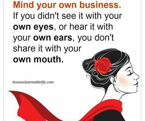 mind your own business image