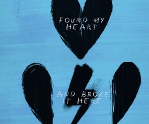 heart, love, and song lyrics image