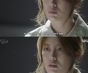 caps, Korean Drama, and love in trouble image
