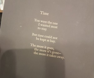 books, quotes, and time image