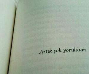 tumblr, türkçe sözler, and kitap sözleri image