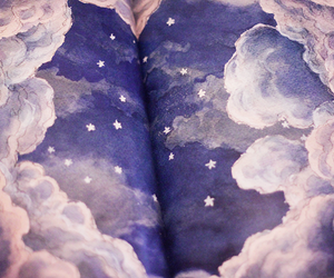stars, sky, and clouds image