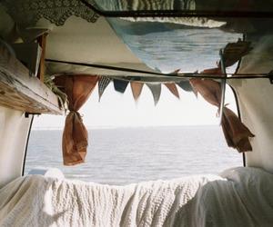 travel, sea, and vintage image