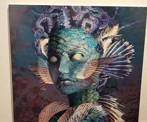 fine art, fish, and portrait image
