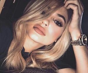 blonde, instagram, and kylie image