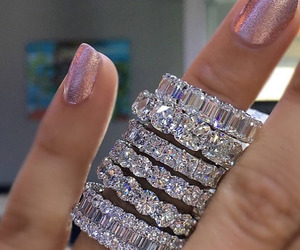 fashion, diamond, and pink image