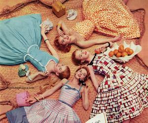 fashion, girls, and vintage image