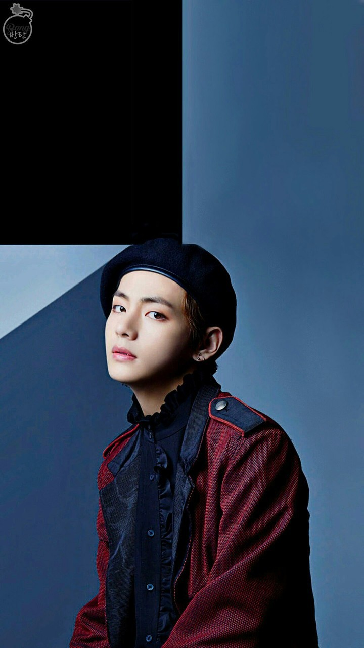 Wallpaper Bts V Cr Logo On We Heart It