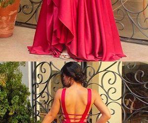 prom dress, dress, and evening dress image