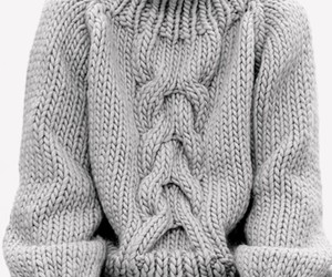 fashion, girl, and knit image