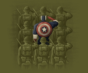 captain america, comics, and Marvel image