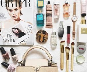 Amber Valletta, flatlay, and Louis Vuitton image