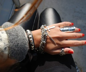 fashion, hand, and jewelry image