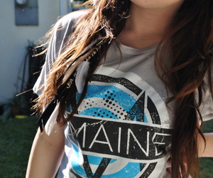 girl, the maine, and hair image