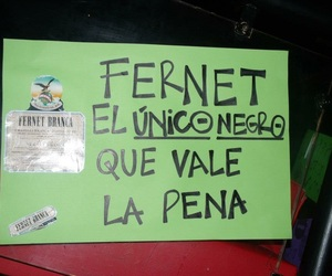 amor, negro, and fernet image